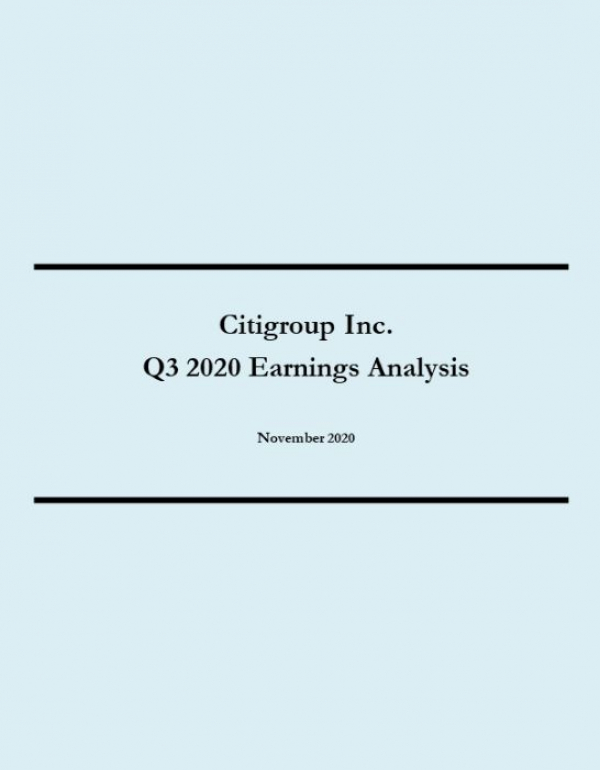 Citigroup Q3